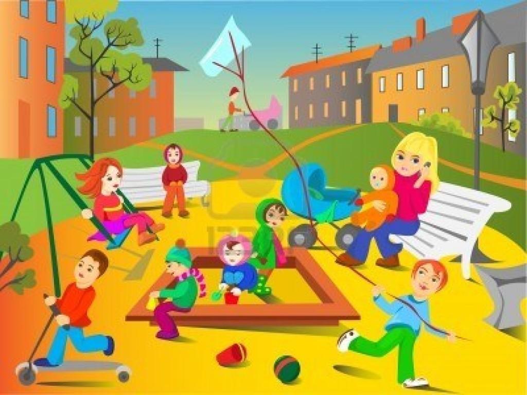 8111097-i-ragazzi-stanno-giocando-il-parco-giochi
